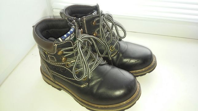 Ботинки 28 - 29 размер 18 см Y top мальчику