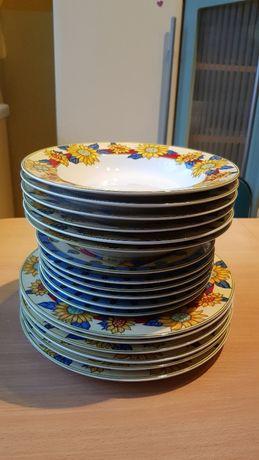 Serwis zestaw obiadowy - LUCIANO - 18 elementów