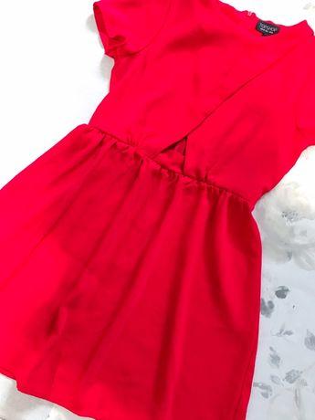 Платье Topshop летнее красное