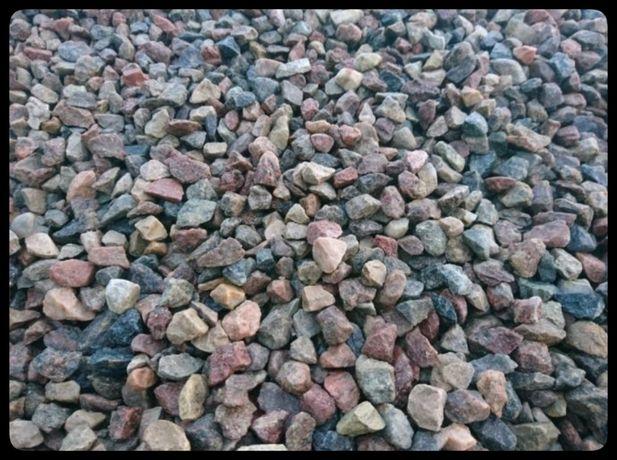 SUPER Kamienie ogrodowe, kolorowe, płukane frkacja 11-19mm