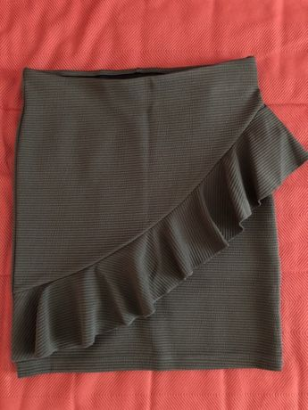 Spódniczka ołówkowa khaki Sinsay roz.XS