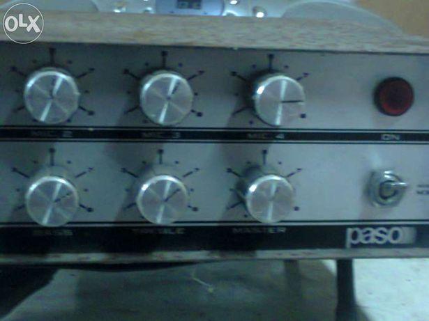 Pré - amplificador mixer da Paso