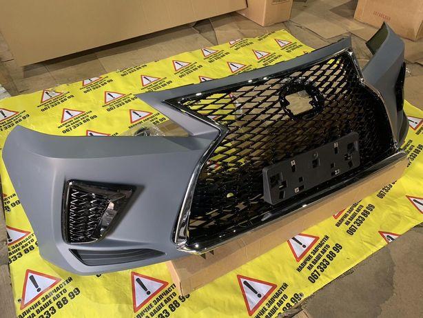 Бампер Lexus RX 2020, капот телевизор RX 2020