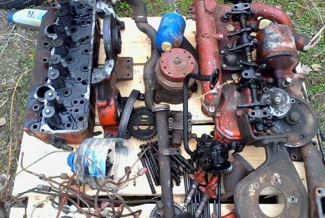 Двигатель Д-240 Мтз на запчасти(блок,головка,поддон,коленвал,ТНВД)
