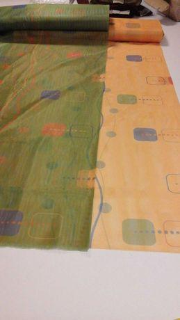 Tkanina -firanowo-zasłonowa  dekoracyjna 2 kolory