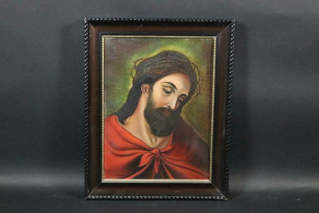 Ecce Homo - Pintado a óleo sobre tela