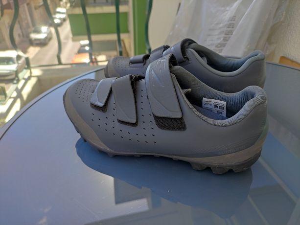 Sapatos ciclismo BTT Shimano 38
