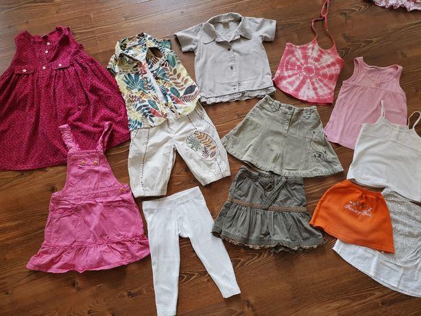 PAKA ubrań dla dziewczynki rozmiar 104