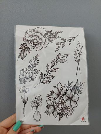 Wodoodporne tatuaże wizualizacja fake tattoo