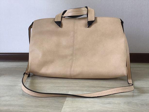 Мягкая сумка ZARA