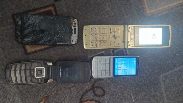 Телефон LD раскладушка, нокия603,нокияС3-01 самсунг
