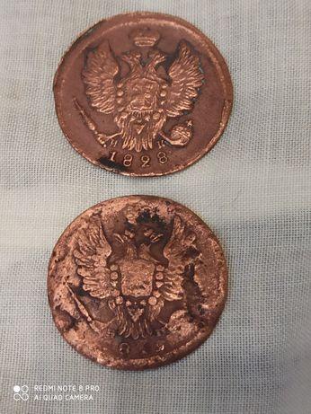 1 копейка 1819, 1828 г.