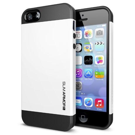 R145 Capa SPIGEN SLIM TOUGH Armor Apple iPhone 5 5S SE