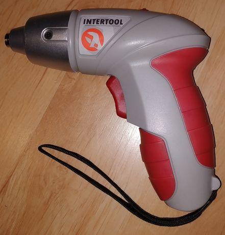 Электроотвертка аккумуляторная Intertool DT-0301