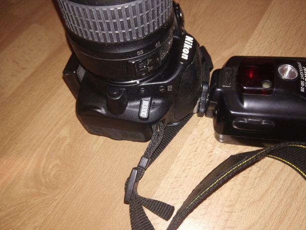 Nikon D3100 com zoom é flash
