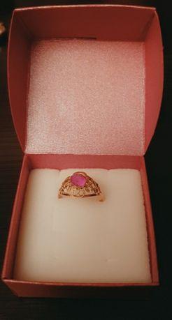 Pierścionek z 14-karatowego złota, waga: 2,04 g