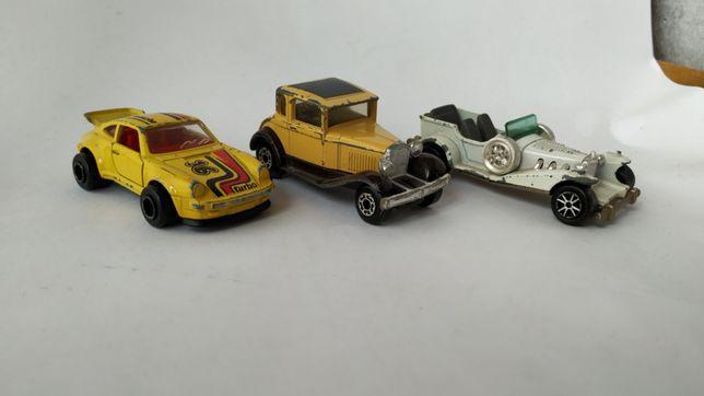 Три машинки: 2 made in France и одна made in Macau