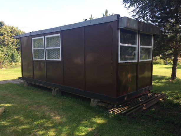 kontener biuro, camping, na Mazurach