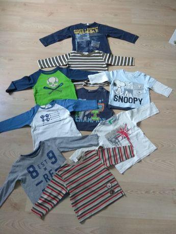 Koszulki 74-92. Cena za całość 9 sztuk.