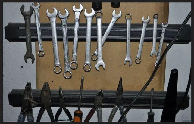 В гаражИЛИмастерскую КОМПЛЕКТ 8 штук - планка магнитная 50 см