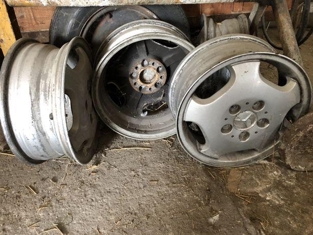 Felgi aluminium Mercedes A klasa