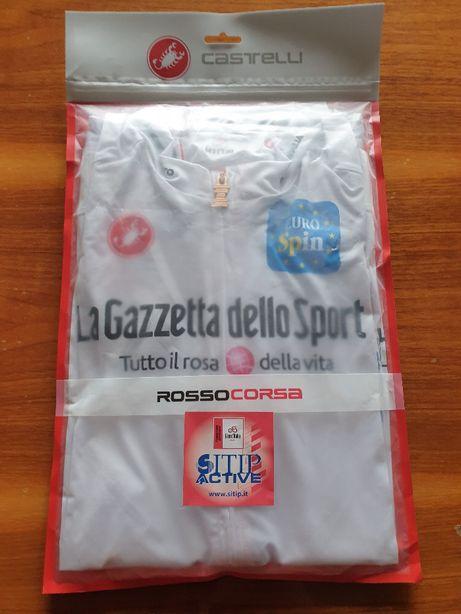 Koszulka kolarska GIRO D'ITALIA Race Maglia Bianca 2020 marki Castelli