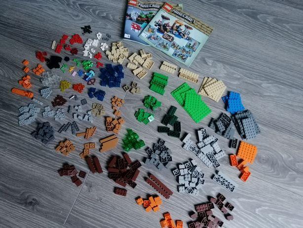 2 zestawy Lego minecraft cafting box 21116