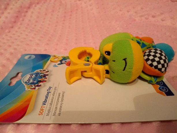 Canpol pluszowa przywieszka zabawka wibracyjna