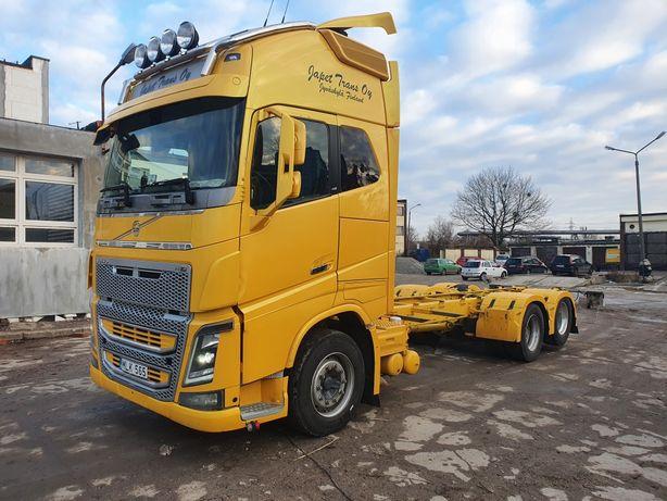 VOLVO FH 16 550 6x2, euro 5 2013 rama do zabudowy pomoc drogowa laweta
