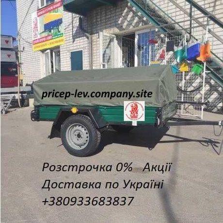 Легковий причіп ЛЕВ 2,0х1,27 (акційна модель) від заводу