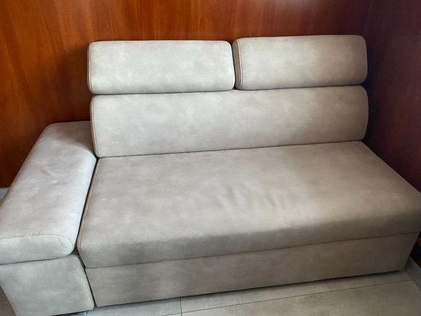 kanapa szara rozkładana