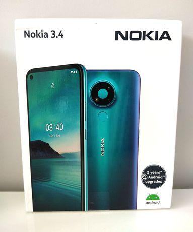 Nokia 3.4 4Gb de Ram 64Gb de Armazenamento Garantia 2 Anos[Novo]