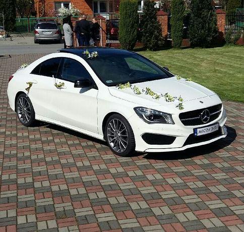 Samochód do ślubu! Auto do ślubu! Piękny Mercedes CLA 200