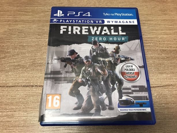 PS4 FireWall Zero Hour VR