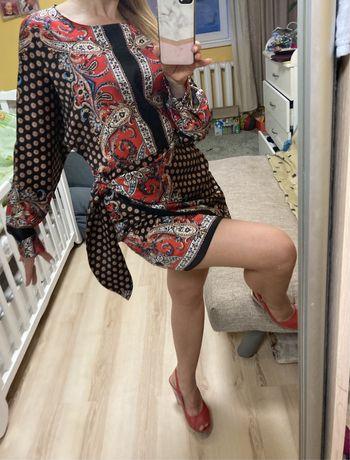 Платье ZARA новое xs + колье в подарок
