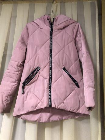 Куртка розова, весна