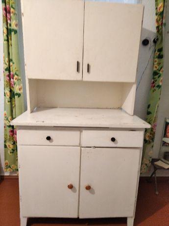 стол кухонный со шкафчиком