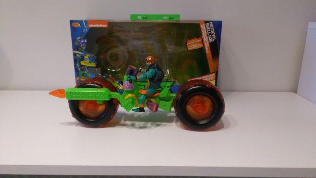 Wojownicze Żółwie Ninja Motocykl Z Michelangelo - Epee