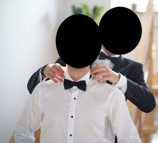 Koszula smokingowa WINMAN - SlimFit_rozm 39_stan Idealny