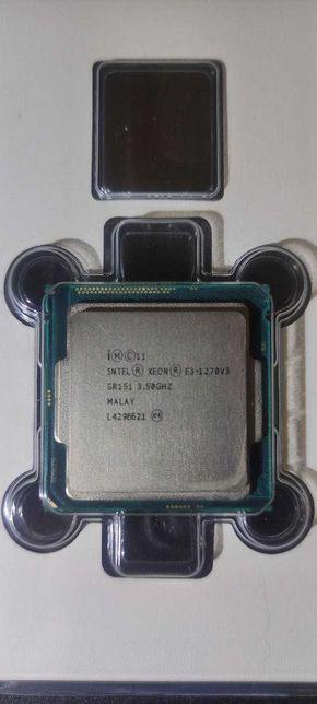 Intel Xeon E3 1270 v3 (i7-4770) 4/8 - 3.5-3.9 Ghz - 8Mb / LGA1150