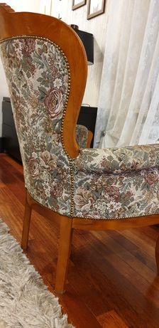 Fotel kawowy ludwik