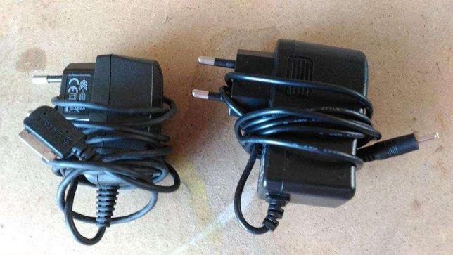 5 carregadores de telemóvel