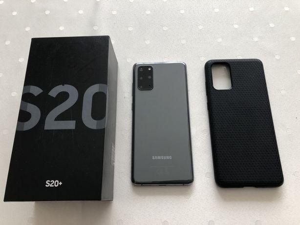 Samsung Galaxy S20+, stan idealny, dowod zakupu