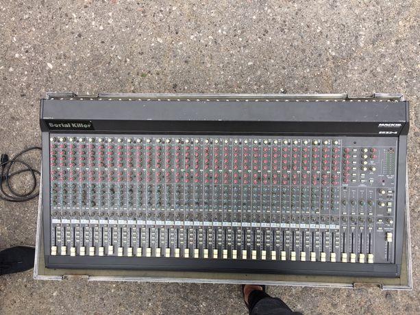 MACKE mixer 32 kanałowy 6 AUX + case