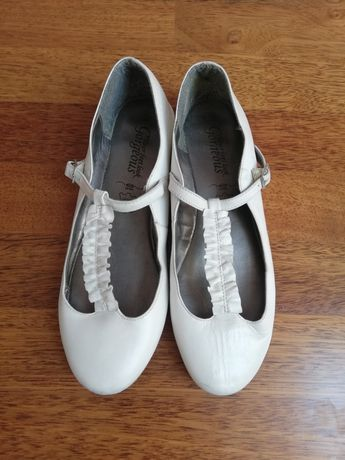 New look skórzane baleriny komunia 39