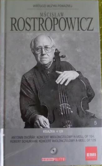 Płyta Mścisław Roztropowicz Muzyka Poważna CD książka myzyka klasyczna Kraków - image 1
