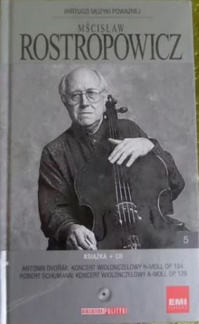 Płyta Mścisław Roztropowicz Muzyka Poważna CD książka myzyka klasyczna