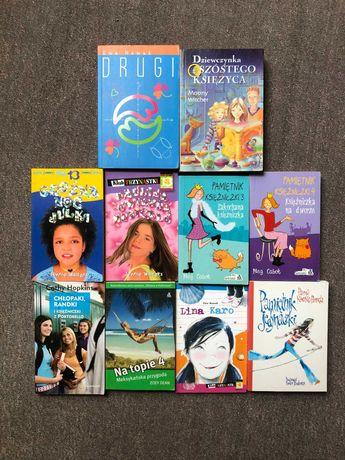 Zestaw 10 książek dla młodzieży nastolatek