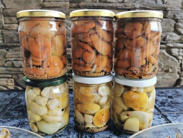 Prawdziwki rydze borowiki szlachetne marynowane grzyby 0,5l 500ml 2021
