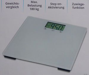 Elektroniczna waga łazienkowa max 180 kg